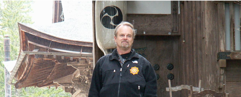 Van Donk in Koyasan